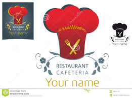 vector restaurant logo design stock vector image 23837110