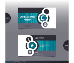 company cards best company business cards vector design 04 vector card free