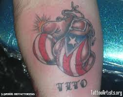 boxing glove tattoo designs boxing tattoos of boxing gloves