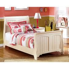 cottage retreat bedroom set ashley cottage retreat cream sleigh bed set free shipping today