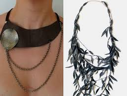 leather necklace long images Different types of leather jewellery you should try at least once jpg