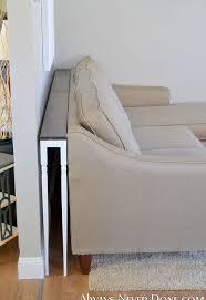 Diy Sofa Table Diy Thin Sofa Table Hometalk