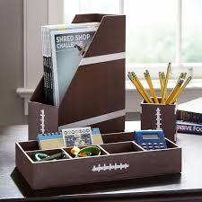printed desk accessories football pbteen