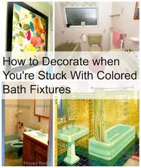 Period Bathroom Fixtures House Revivals Decorating With Colored Bathroom Fixtures