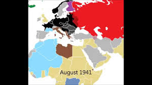 Map Of Europe 1939 by Animated Map Wwii In Europe 1939 1945 Youtube
