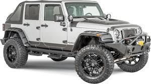 jeep wrangler unlimited sport rhino lund 5821202 rhino lining rocker panel guards for 07 18 jeep