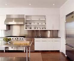 stainless steel kitchen backsplash panels inspiration from kitchens with stainless steel backsplashes modern