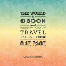 Quotes and sayings about traveling