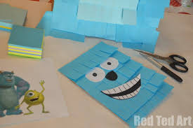 Monster Inc Decorations Monsters Inc Pinata Easy Craft