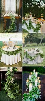 cheap garlands for weddings best 25 greenery garland ideas on wedding table