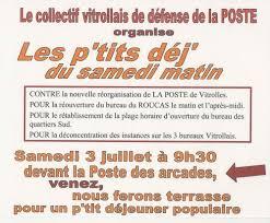 bureau de poste vitrolles defense la poste le politique de didier hacquart adjoint ps