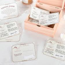 wedding wishes book forever wedding wishes signature cards pkg of 48