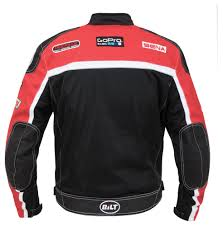 red and black motorcycle jacket bilt grid mesh jacket cycle gear