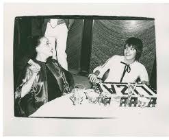 liza minnelli and martha graham at liza u0027s birthday party andy