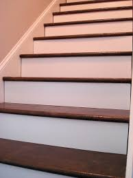 brown packing paper floor solution for stairs to basement i