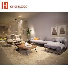 canap royal royal style dubai moderne tissu canapé meubles avec cadre en métal