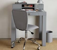 Mini Computer Desk Parsons Mini Desk Hutch Pottery Barn