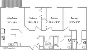 floor plans 3 bedroom 2 bath autumn ridge 3 4 floor plans goldmark property management inc