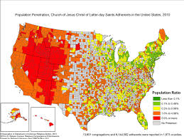 Seattle Demographics Map by Where Are Washington U0027s Mormons Fyi Guy Seattle Times