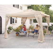 Castlecreek Patio Furniture by Castlecreek Gazebo With Screens 657831 Gazebos At Sportsman U0027s Guide