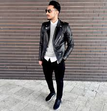 biker jacket men leather jacket for men 18 ways to wear leather jackets