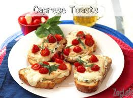 How To Make Toast In Toaster Oven How To Make Caprese Toast In Toaster Oven One Dish Kitchen