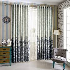 Gray Blue Curtains Designs Tree Curtains Linen For Windows Blue Curtains Home Kitchen Blinds