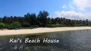 kai u0027s beach house gili air youtube