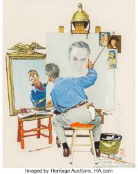 norman rockwell paintings heritage auctions