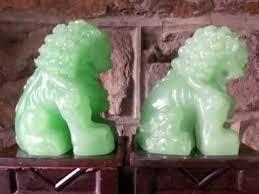green foo dogs ebay estate sale jade foo dogs