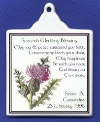blessings for weddings scottish wedding blessing