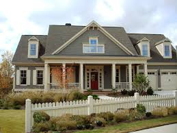 view exterior paint color ideas with red brick home decoration
