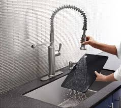 Electronic Kitchen Faucet Kitchen Ideas Kohler Kitchen Faucets With Admirable Kohler