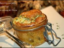 cuisiner les pleurottes flan à la courgette et pleurotes recette ptitchef