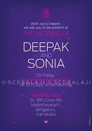 Indian Wedding Planner Book Samétha U0027s South Indian Wedding Invitation Card Inside Samétha By
