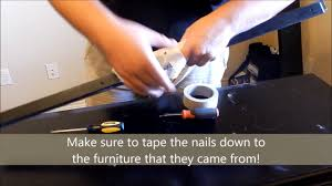 Ikea Aneboda Dresser Slides by How To Take Apart A Dresser Youtube