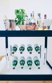 a genius diy bar cart how to style it kelly golightly