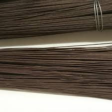 brown floral wire 100pcs x 2 2mm brown wrapped floral florist stem wire 15 7