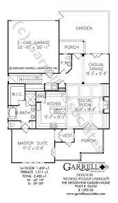 Garden Floor Plan Hedgeview Garden Home 06336 House Plans By Garrell Associates