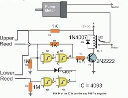 electronics projects electronic water pressure switch circuit