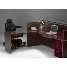 U Shaped Reception Desk Reception Desks U0026 Suites You U0027ll Love Wayfair