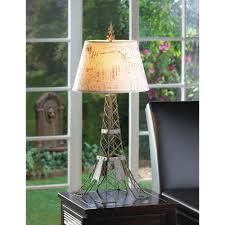 Eiffel Tower Home Decor Accessories Wholesale Parisian Stylized Eiffel Tower Table Lamp Lampshade