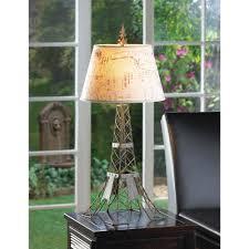 wholesale parisian stylized eiffel tower table lamp lampshade