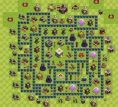 layout vila nivel 9 clash of clans dicas clash of clans como ter um layout de vila ceão