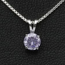 diamond necklace gift images Fromny rakuten global market deluxe 1 25 carat cz lavender jpg