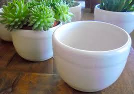 large white ceramic planters ceramic pots white ceramic flower pots