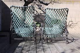 Vintage Brown Jordan Outdoor Furniture by Pair Of Brown Jordan Tamiami Chaise Lounges U2014 Dejavu Atomic Pad