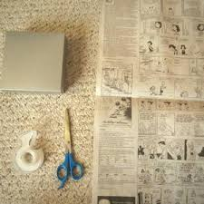 How To Wrap Gifts - how to wrap a gift with newspaper favecrafts com