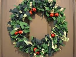 the crafty lass does u2026 christmas fabric wreath workshop