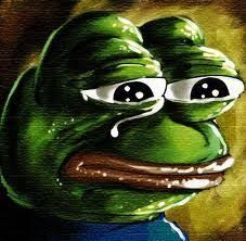 Sad Meme Frog - petition replace the mona lisa with the sad frog meme